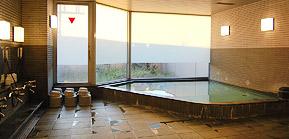サウナ付き大浴場